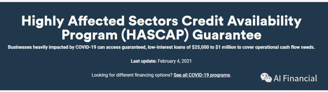 HASCAP全解析 政府贷款能不能借?